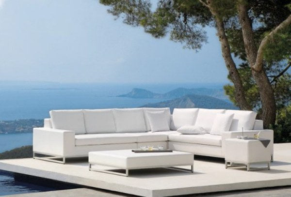 Modern White Outdoor Furniture white outdoor furniture ~ descargas-mundiales
