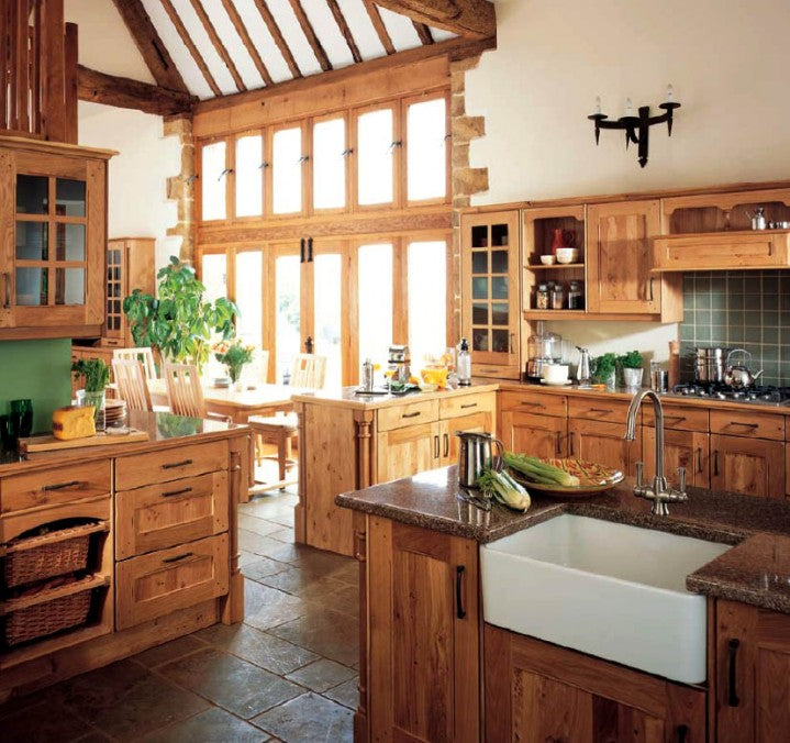 Simply Inspiring 10 Wonderful Kitchen Design Lines That: 21 Amazing Country Kitchens