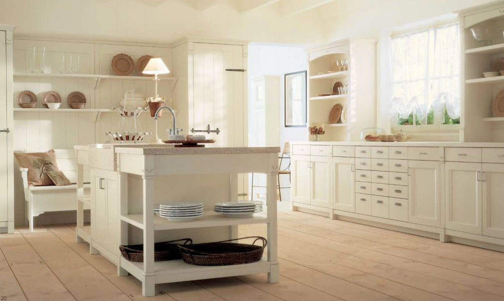 Magnificent Cream Country Kitchen Decor Modern Kitchen Island