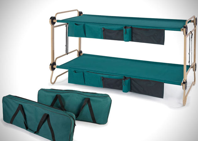 Fold Out Double Camp Bed And Carry Case