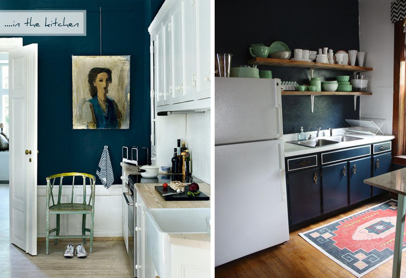 Blue Kitchen Wall Ideas Quicua