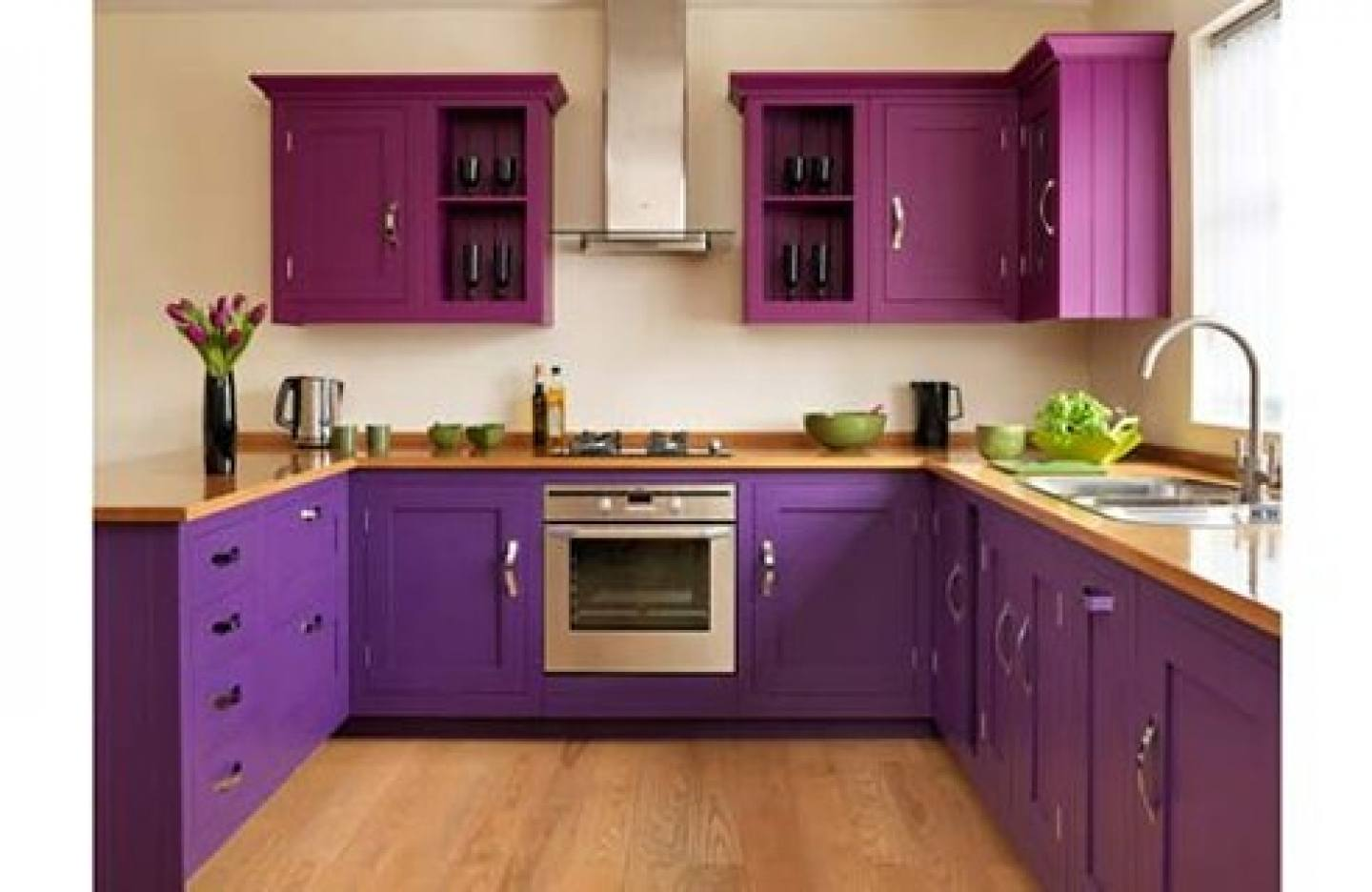 Purple kitchen ideas terrys fabrics 39 s blog for Kitchen designs and colors