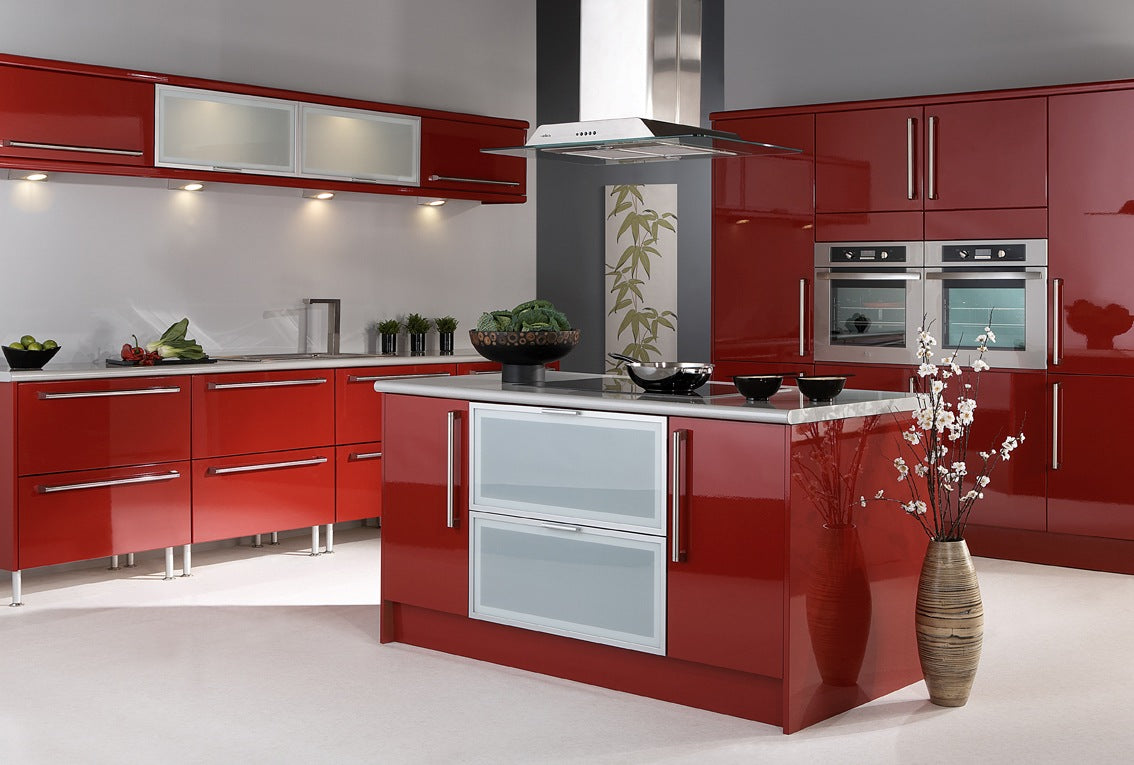 Red Kitchen Ideas – Terrys Fabricss Blog