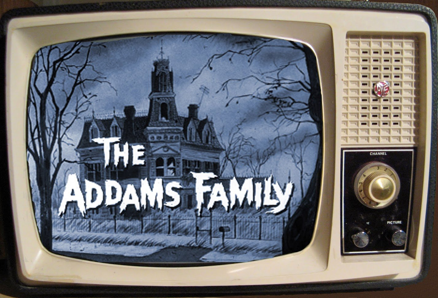 Black And White The Adams Family