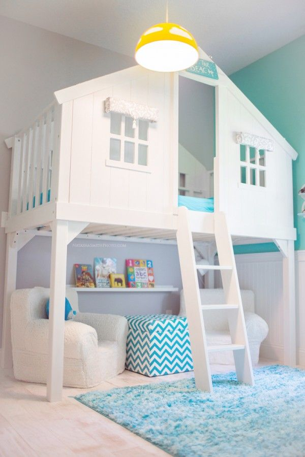 12 Amazing Bed Designs For Kids: Slides, Fireman Poles and Bunk Beds G