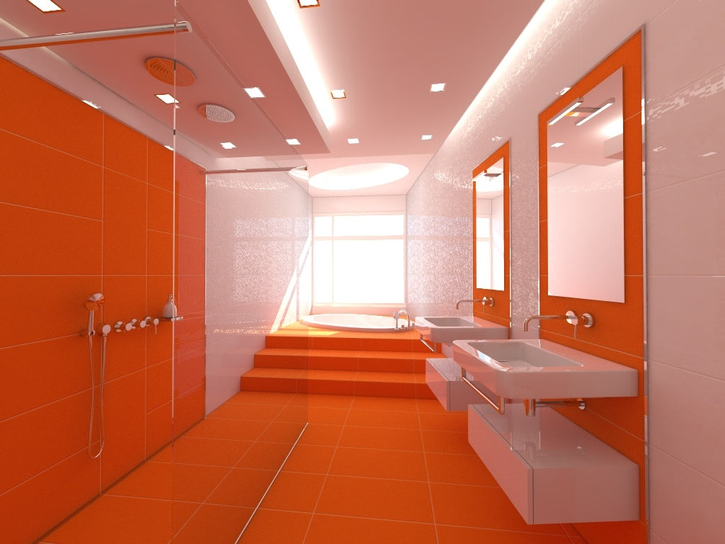 Orange Bathroom Ideas – Terrys Fabrics s Blog