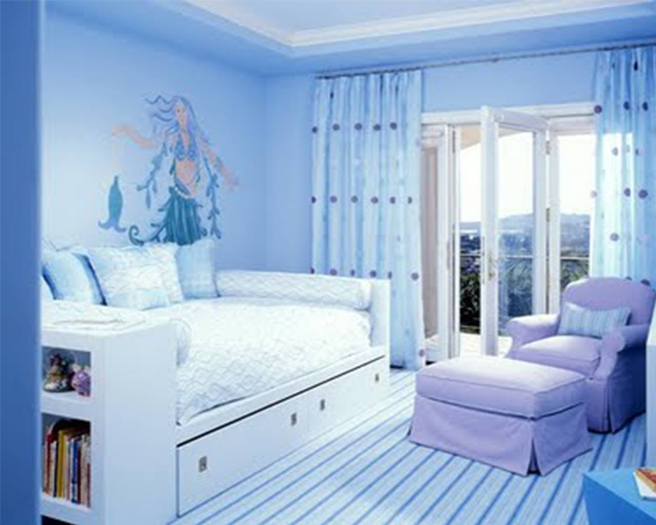Bedroom Ideas Winning Cute Blue Bedroom Ideas With Cute Easy Bedroom