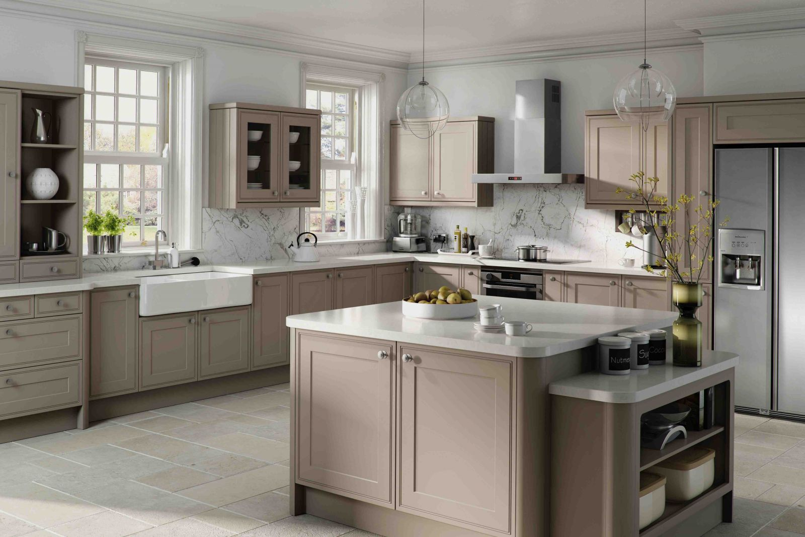 Grey kitchen ideas terrys fabrics 39 s blog for Cuisine taupe