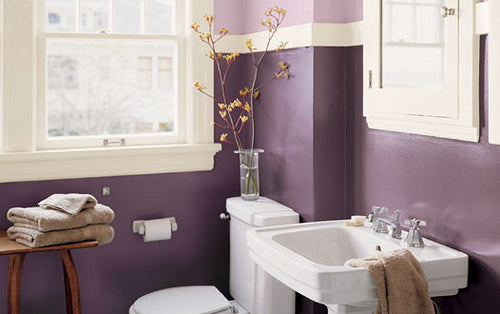 ll find an amazing choice of purple bathroom ideas in our gallery
