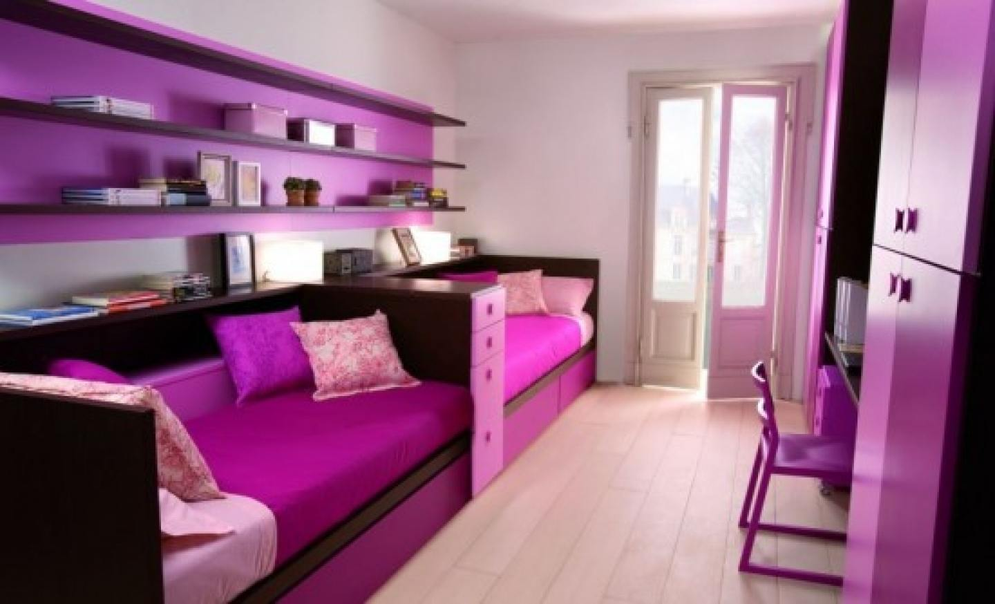 Purple Rooms Fascinating Of Pink and Purple Bedroom Ideas Picture