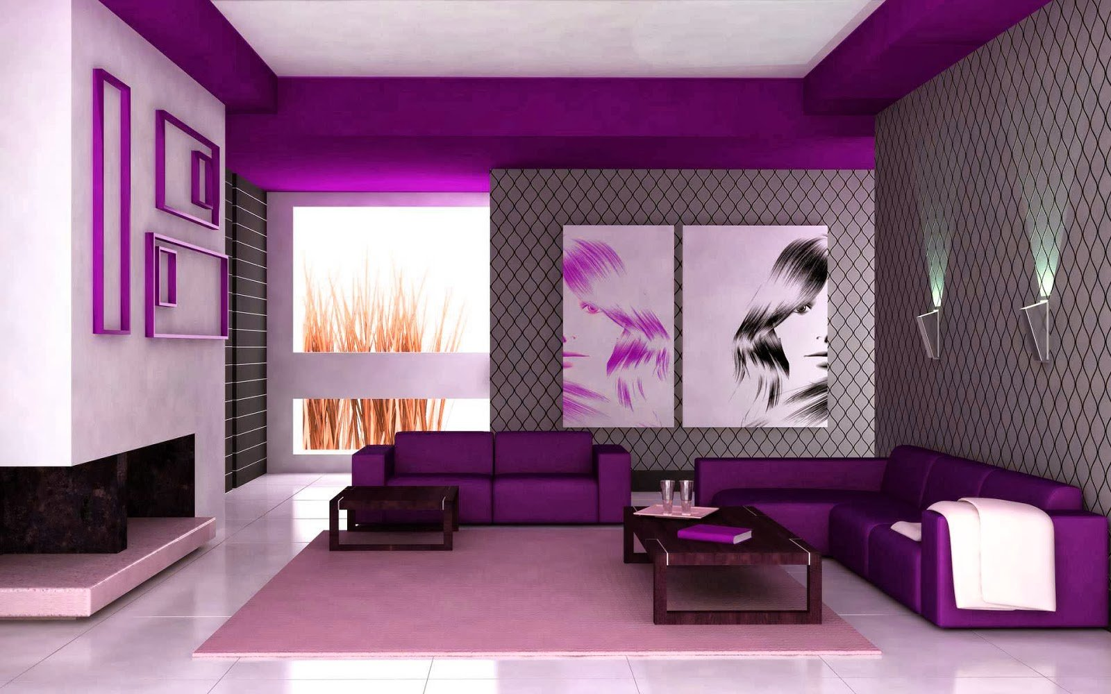 Purple Living Room Ideas - Terrys Fabrics's BlogTerrys Fabrics's Blog