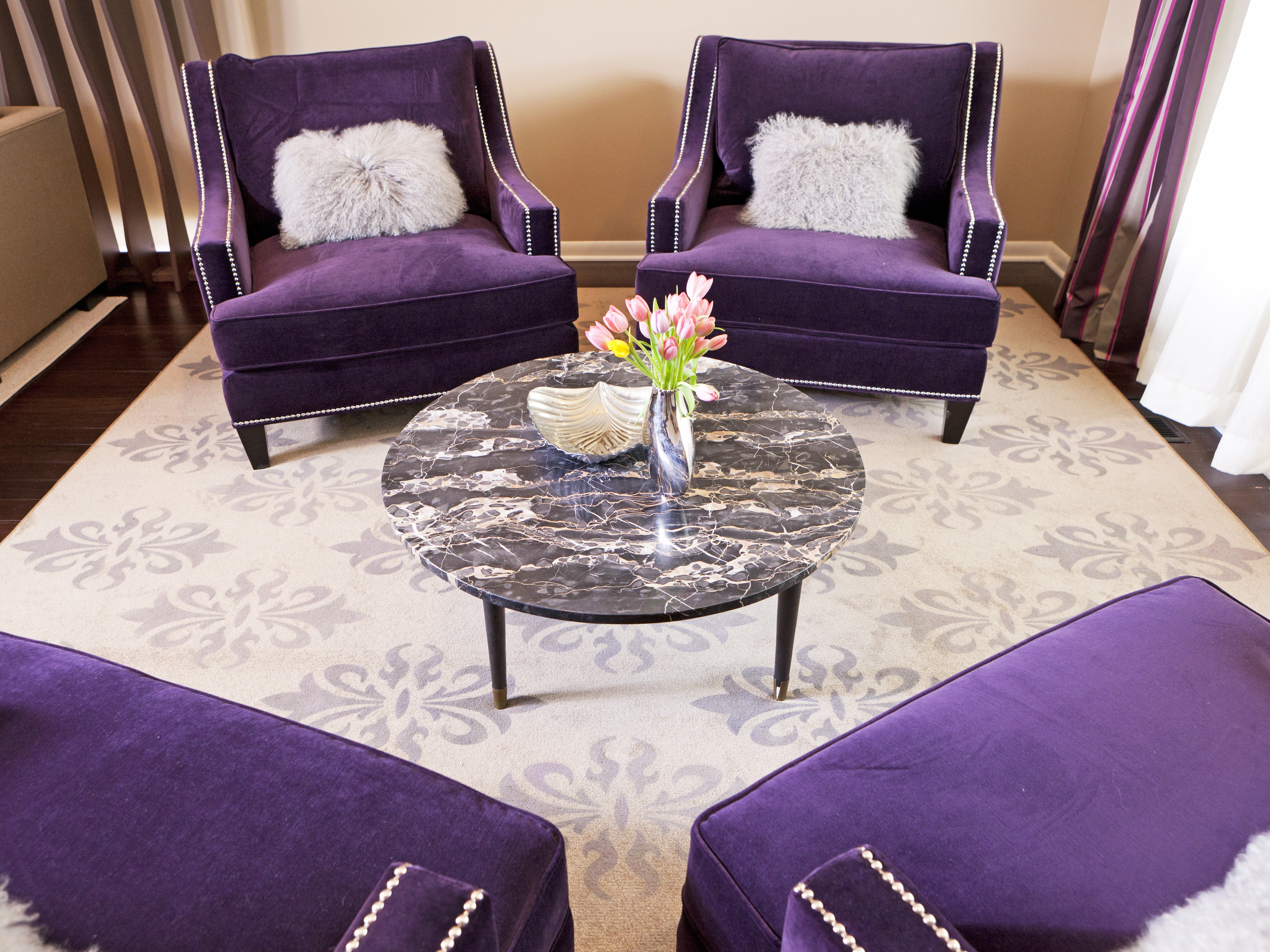 Purple Living Room Ideas – Terrys Fabrics s Blog