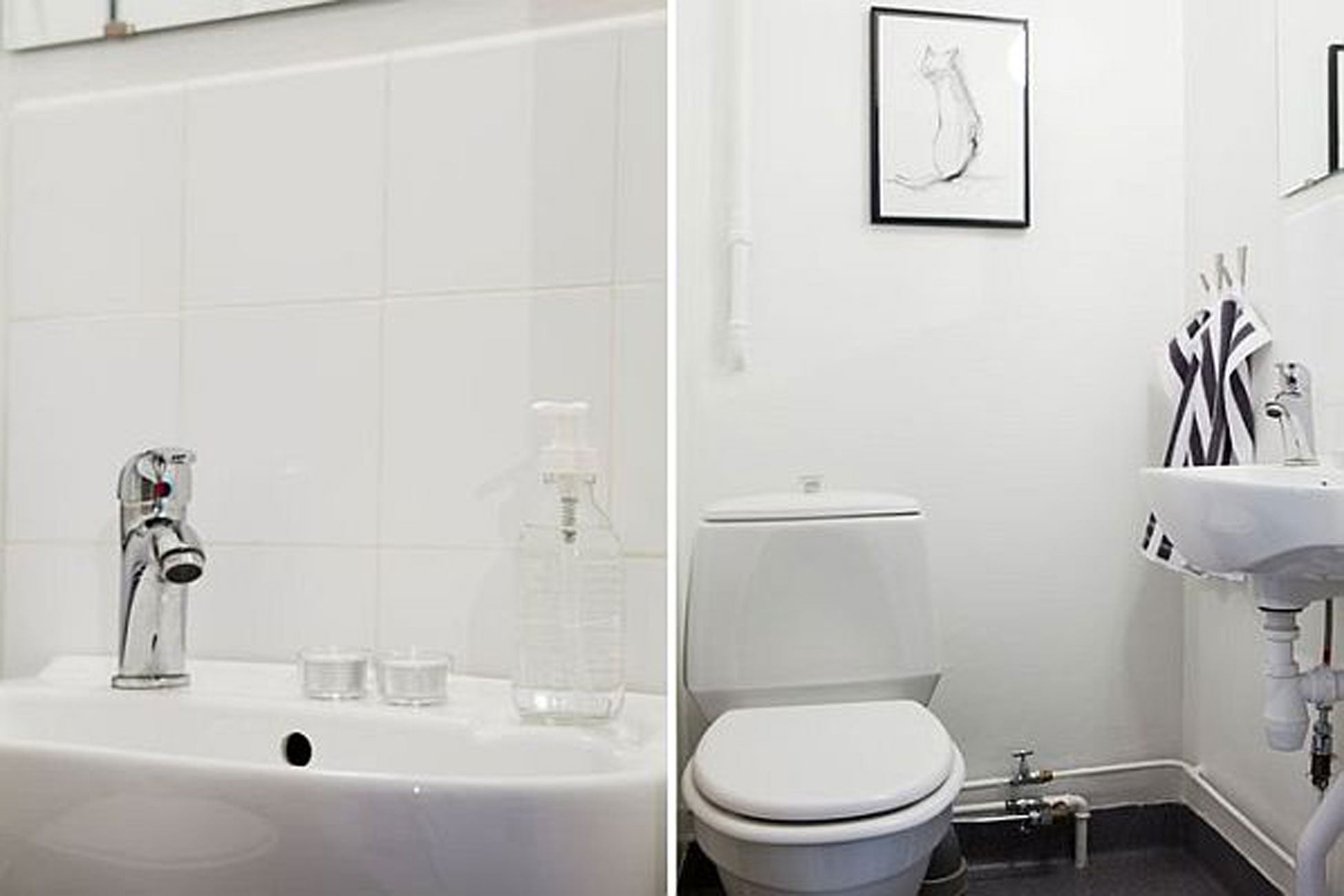 Bathroom Accessories Discount - All white bathrooms pictures