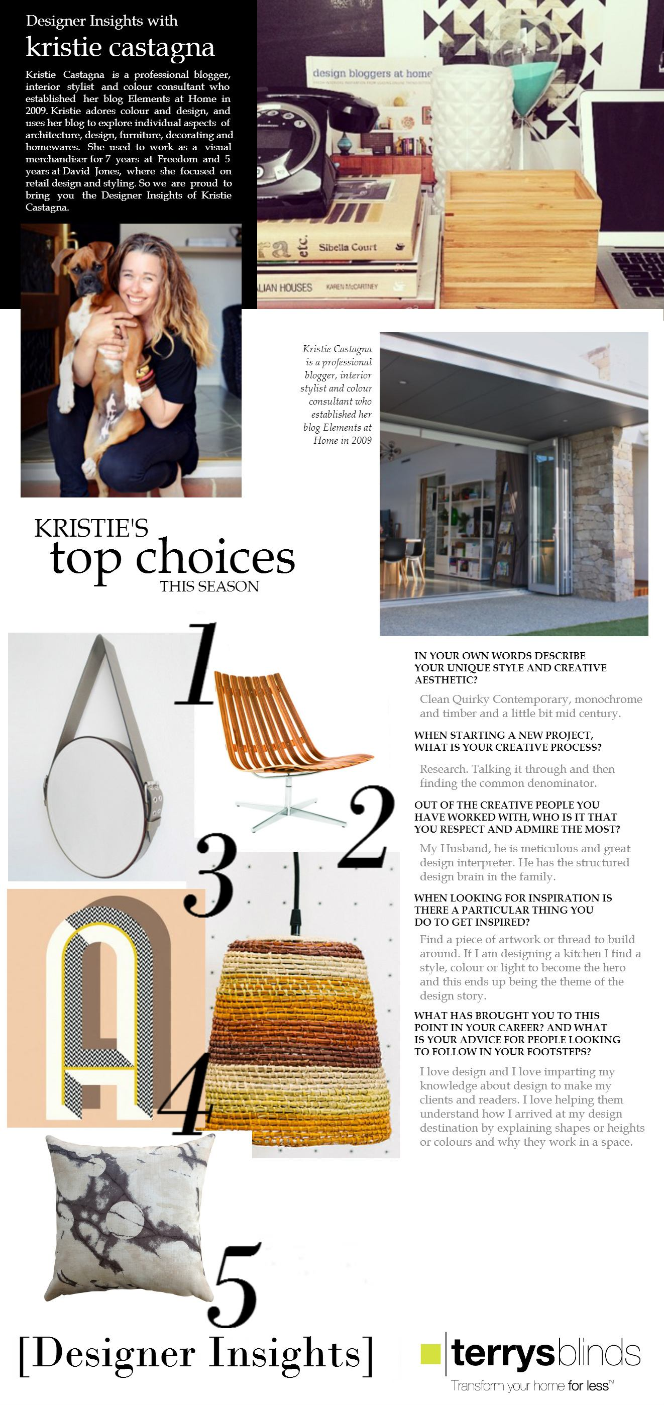 Design Insights - Kristie Castagna