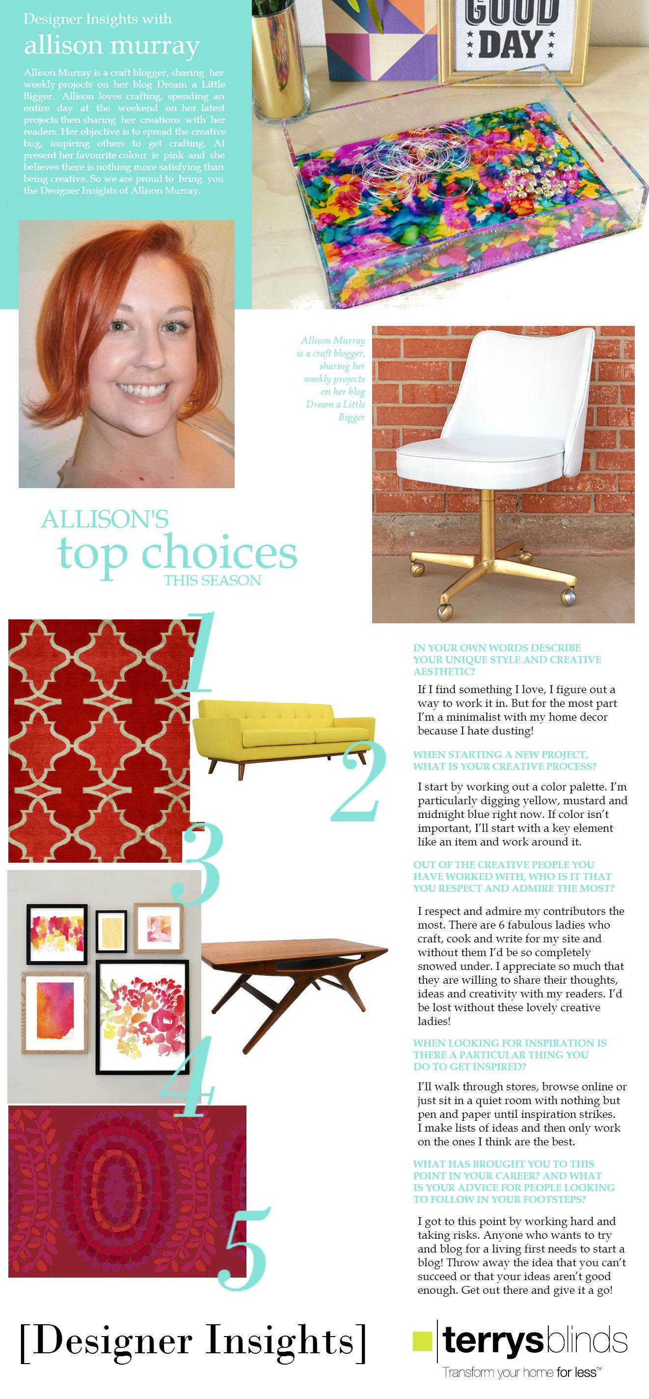 Designer Insights - Allison Murray