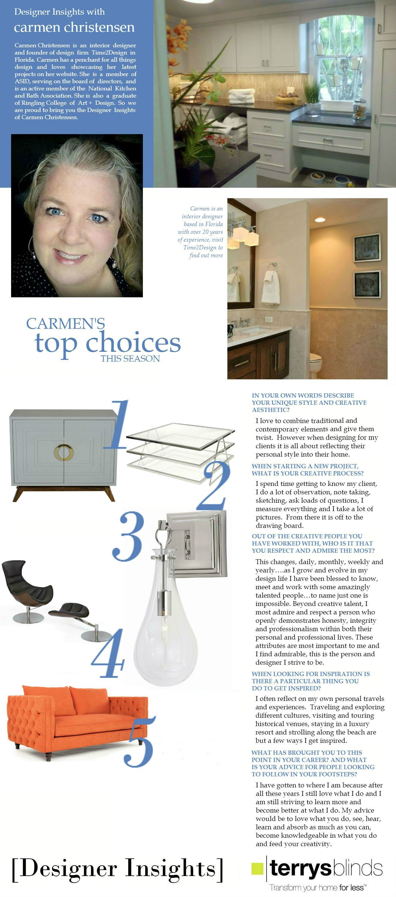 Designer Insights - Carmen Christensen