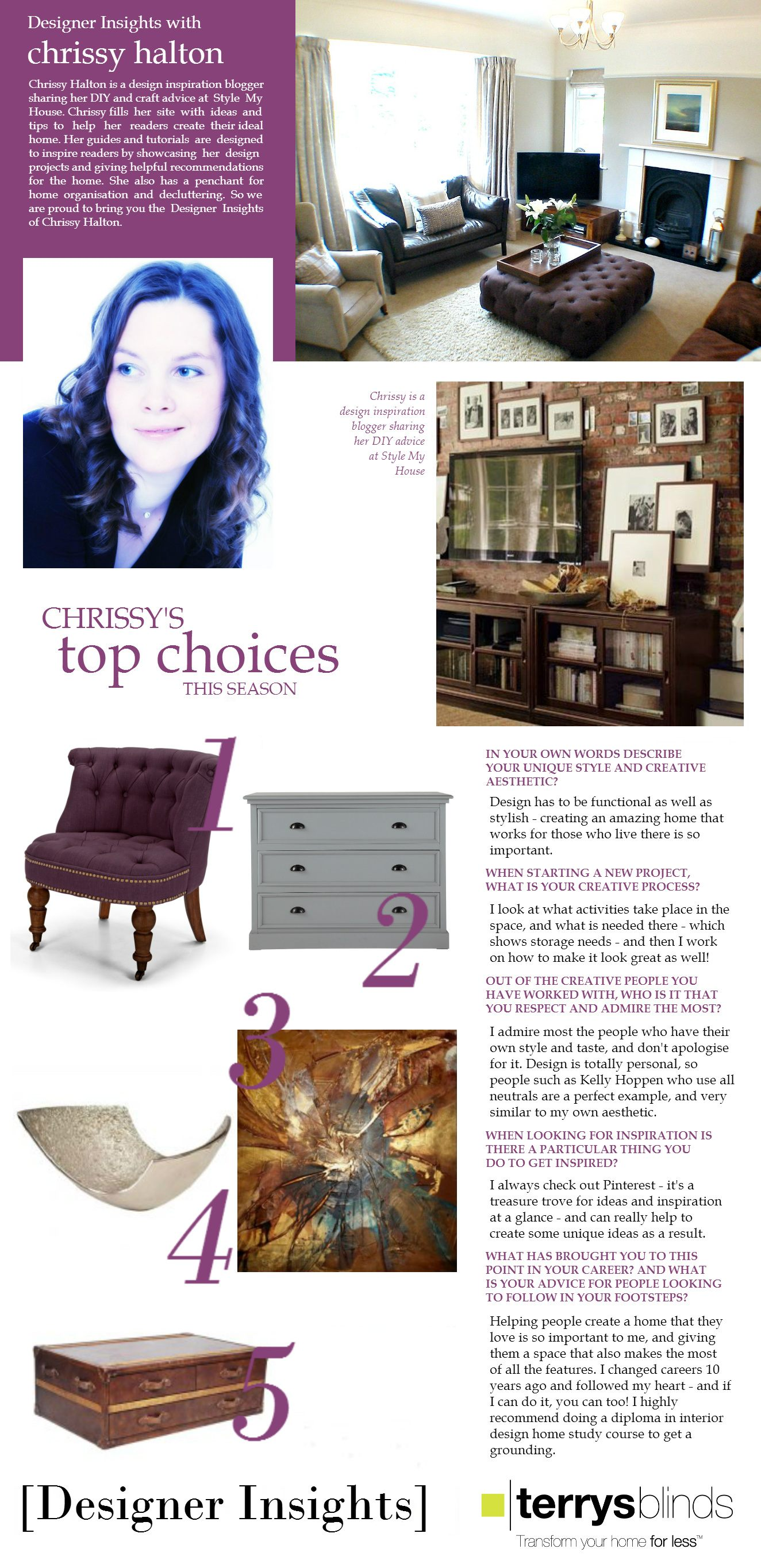 Designer Insights - Chrissy Halton - Part Two