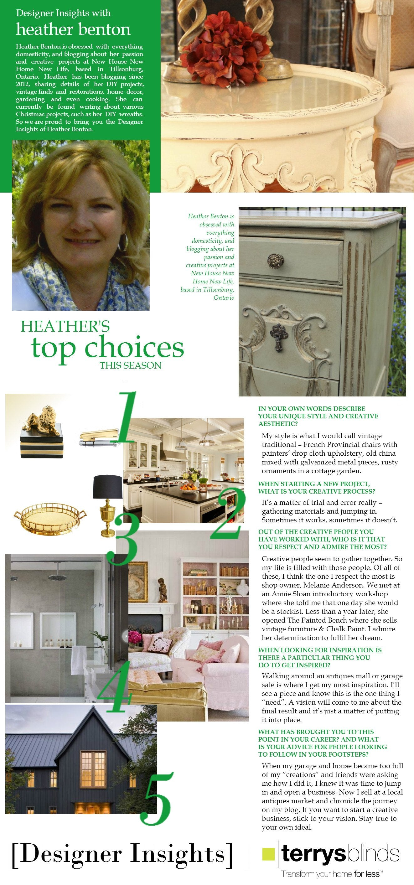 Designer Insights - Heather Benton