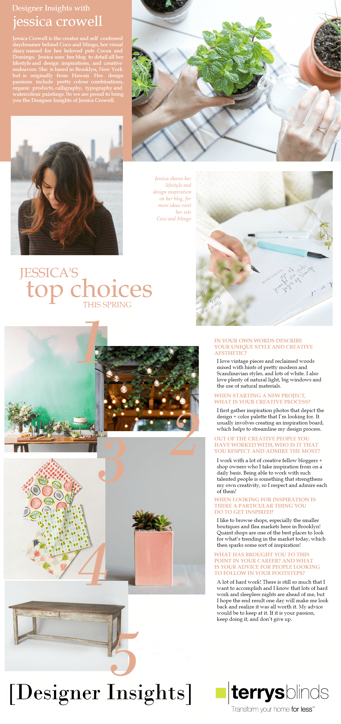 Designer Insights - Jessica Crowell