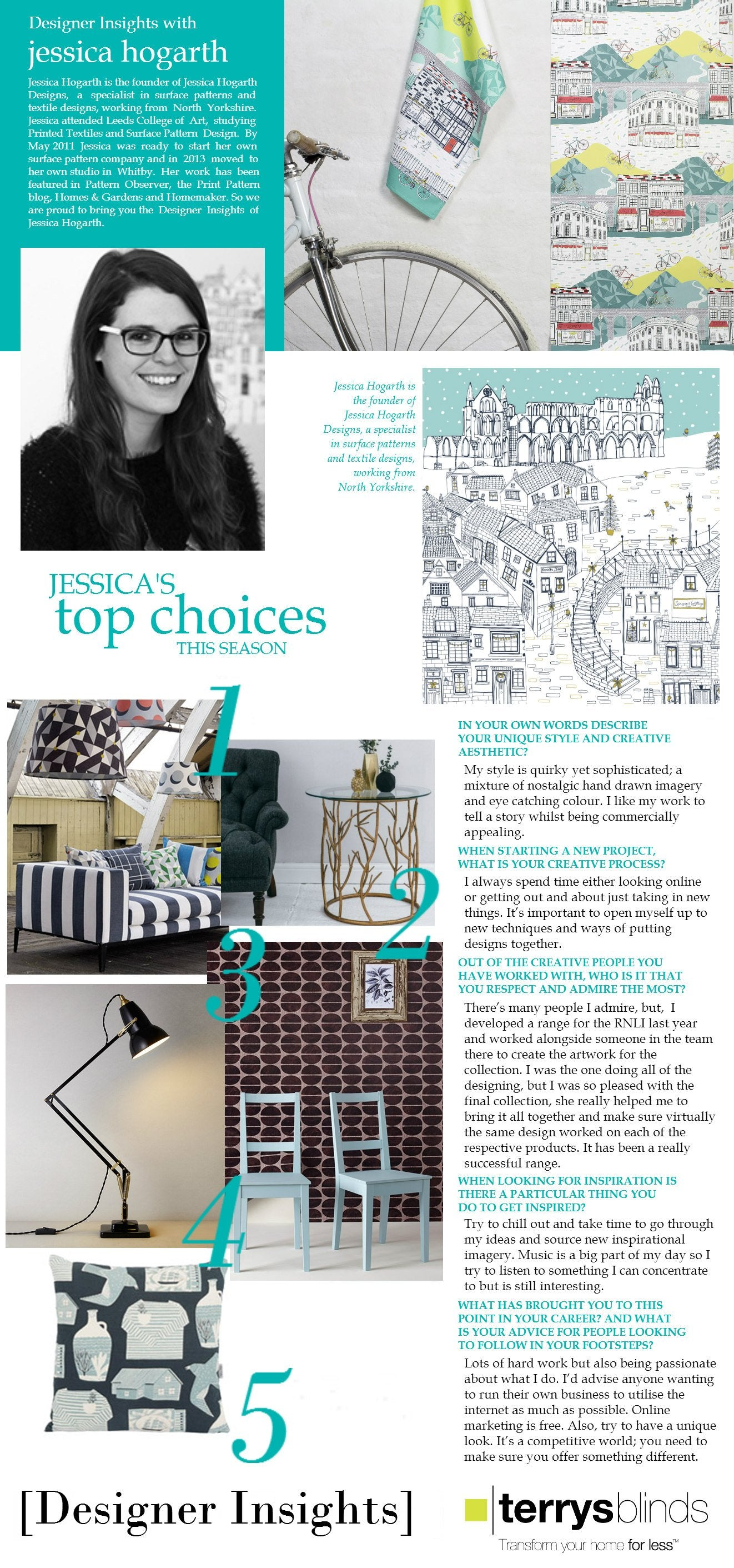 Designer Insights - Jessica Hogarth