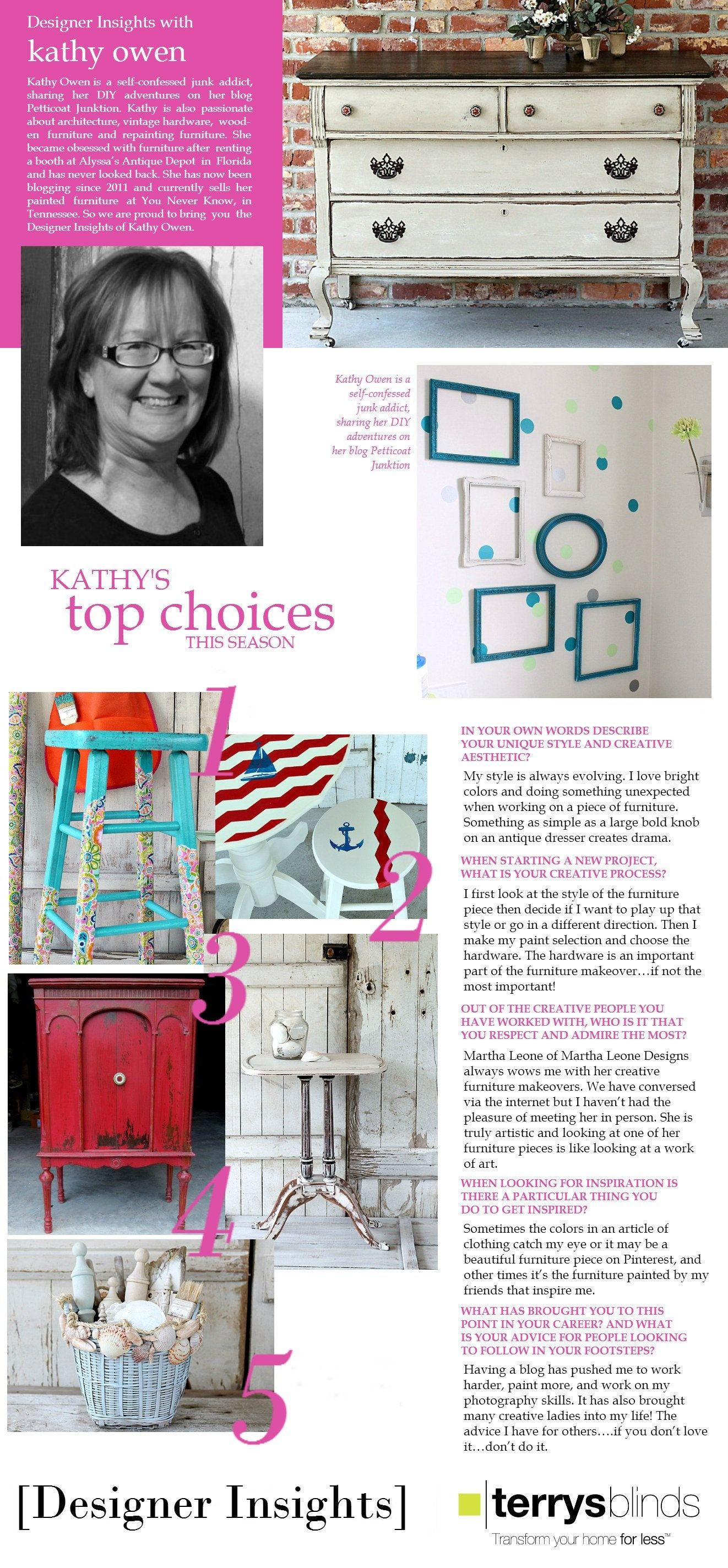 Designer Insights - Kathy Owen