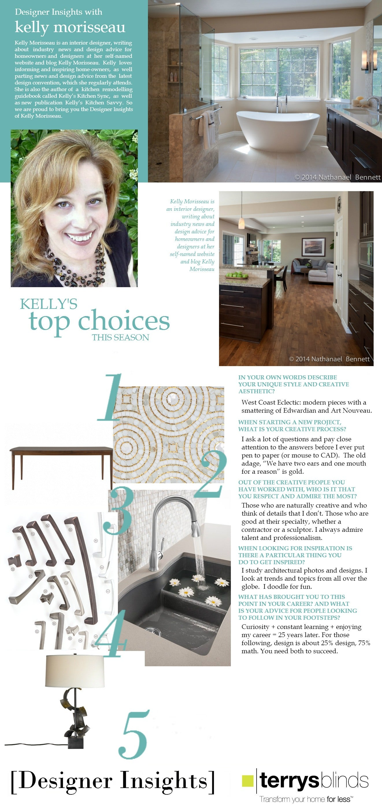 Designer Insights - Kelly Morisseau
