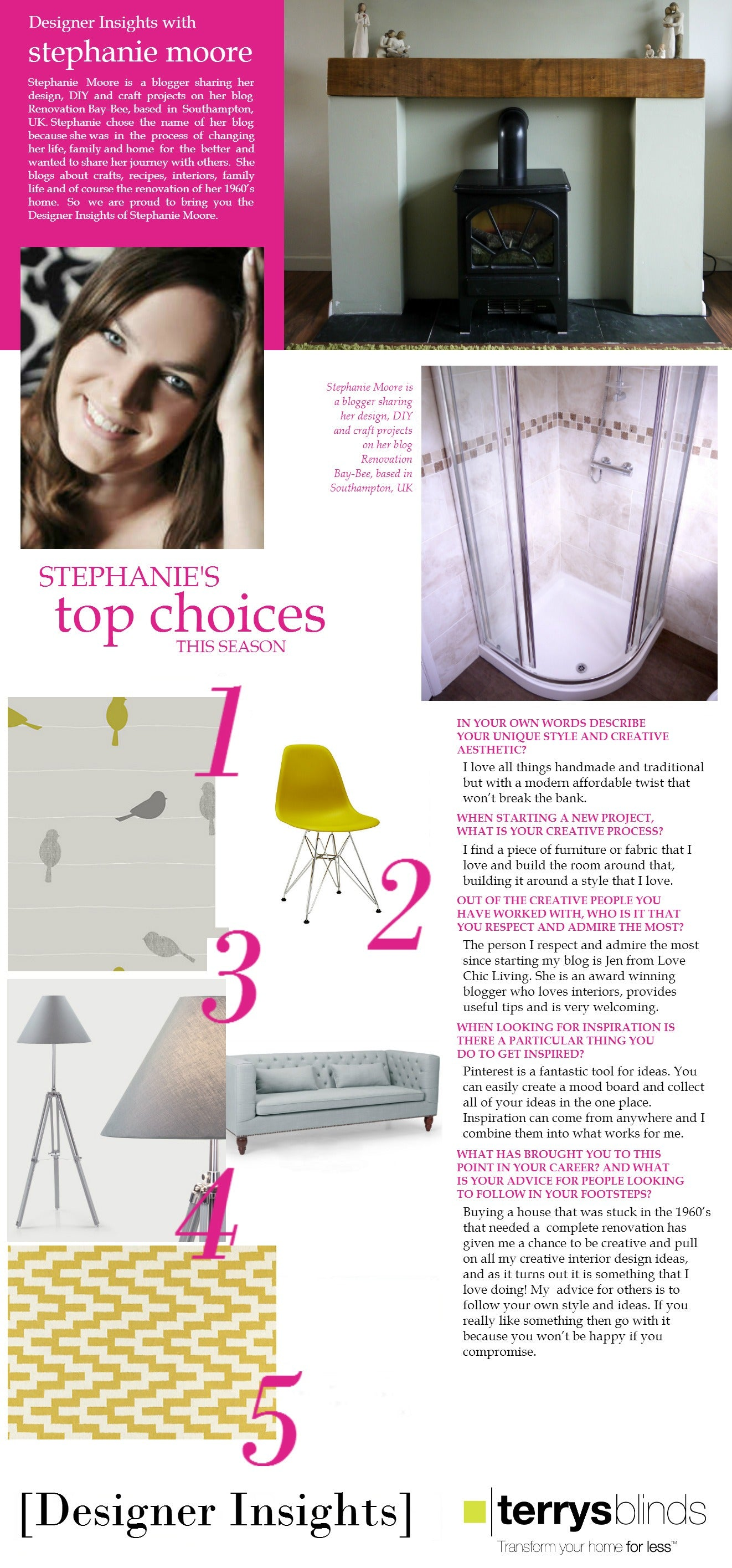 Designer Insights - Stephanie Moore