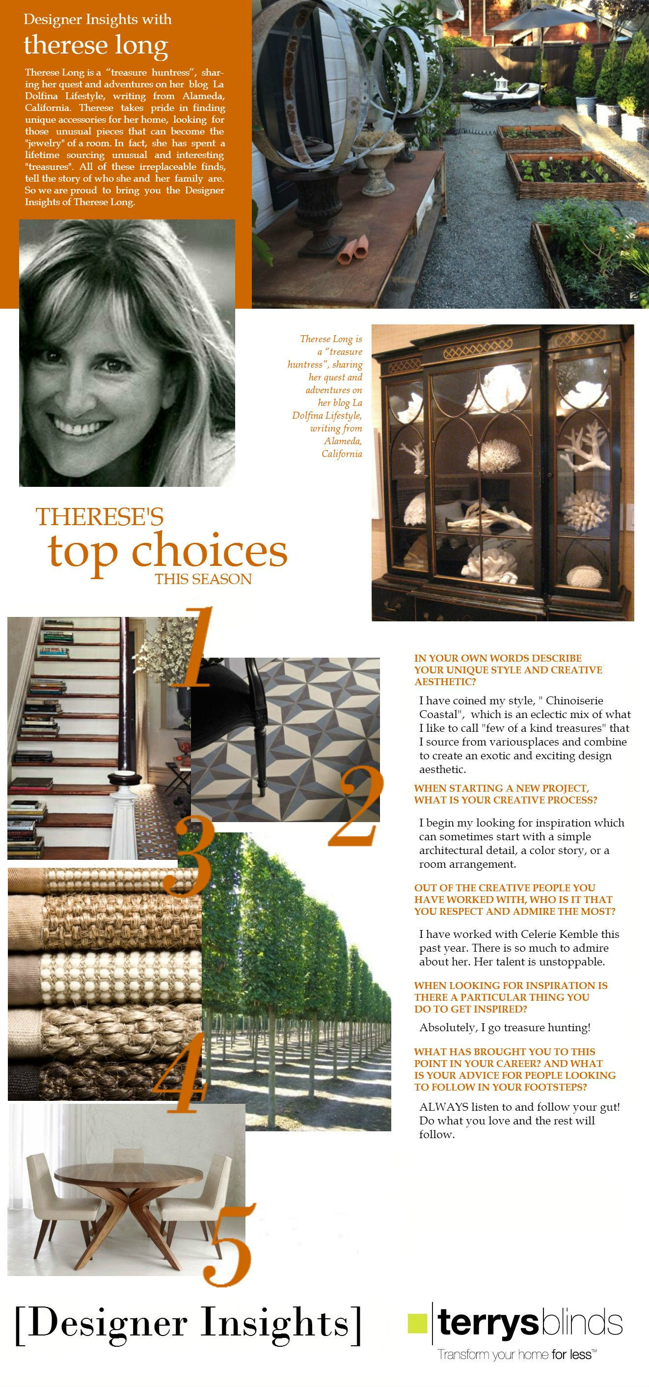 Designer Insights - Therese Long