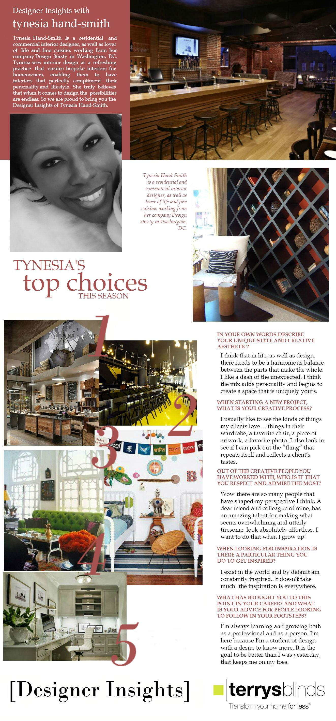 Designer Insights - Tynesia Hand-Smith