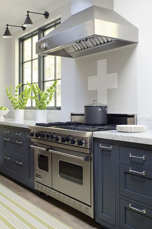 50 Shades of Grey Decorating Ideas - Kitchen