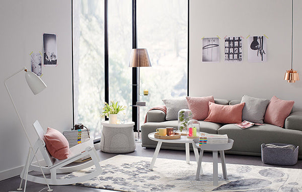 Modern Pastel Home Decor Living Room
