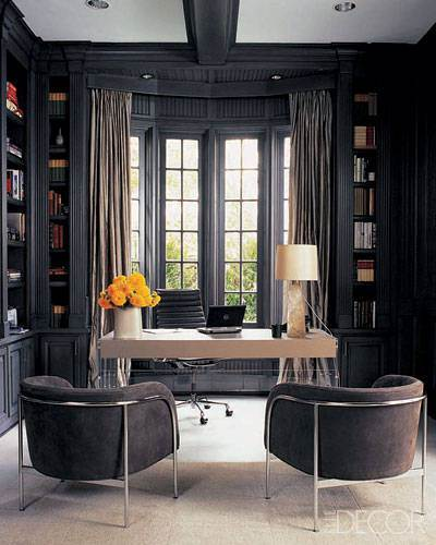 50 Shades of Grey Decorating Ideas - Home Office