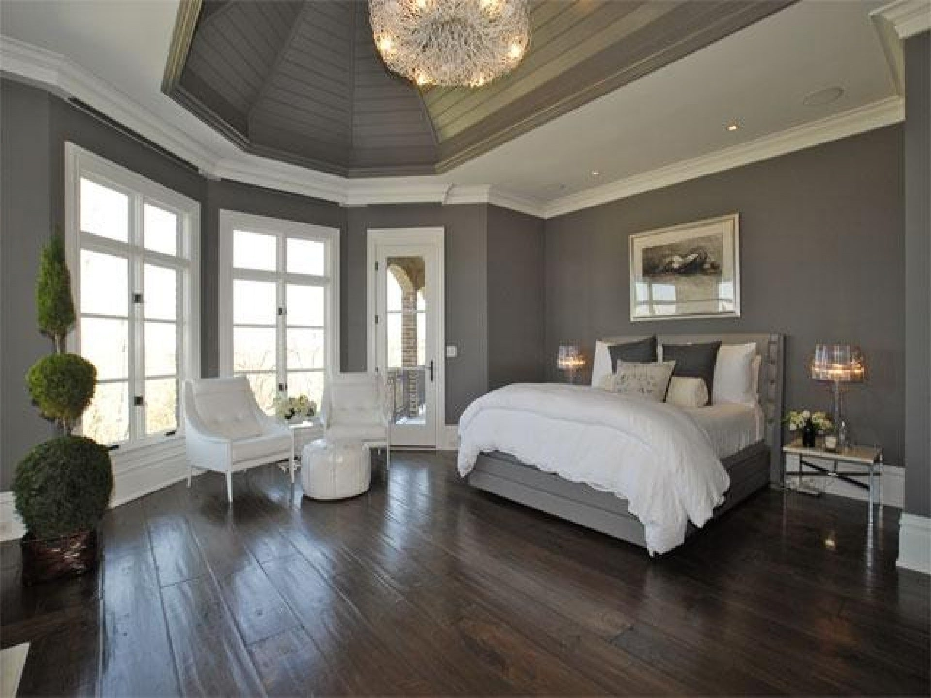 P Romantic Grey Purple Black Bedroom Ideas Bedroom