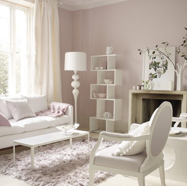 Pink Pastel Living Room Ideas