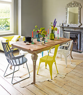 04 Parquet Top Dining Table Graham And Green