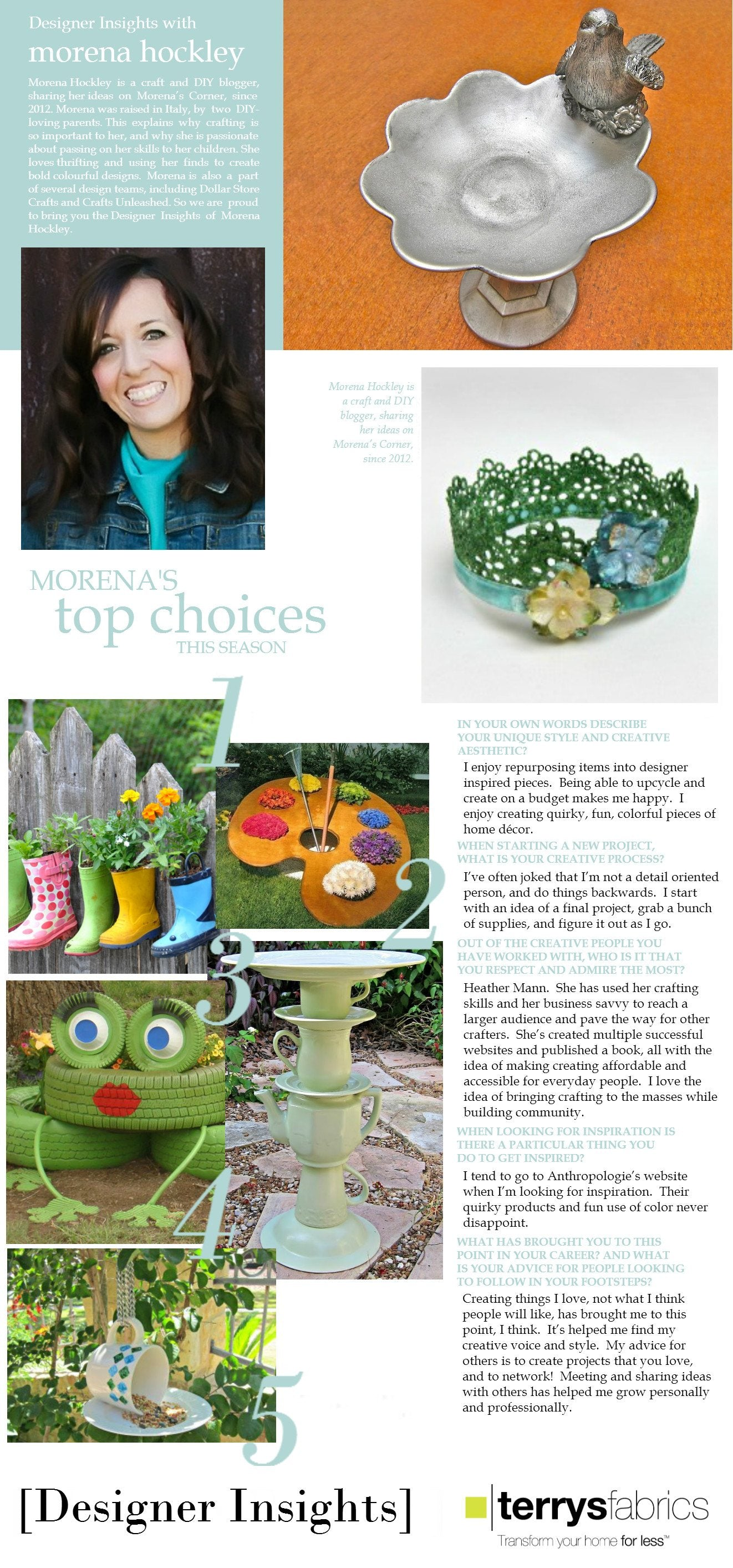 Designer Insights - Morena Hockley