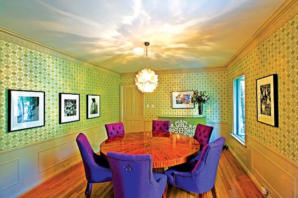 Add quirky details to freshen boring dining rooms for Quirky room ideas