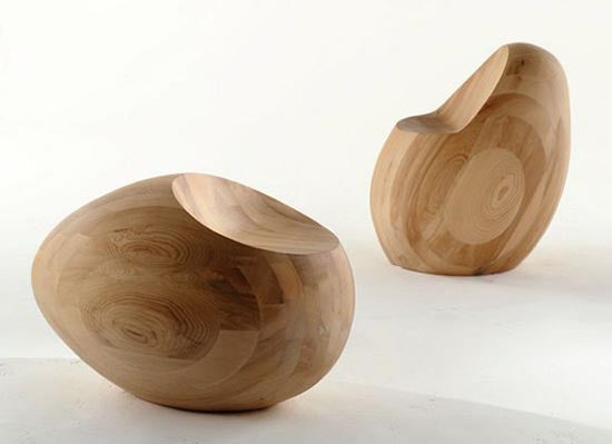 Wooden-Egg-Chair-in-The-Motley-III-Furniture-Collection-by-Samuel-Chan-for-Channels-Design-Firm