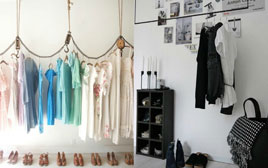 Do You Really Need a Wardrobe? - Alternative Hanging Spaces