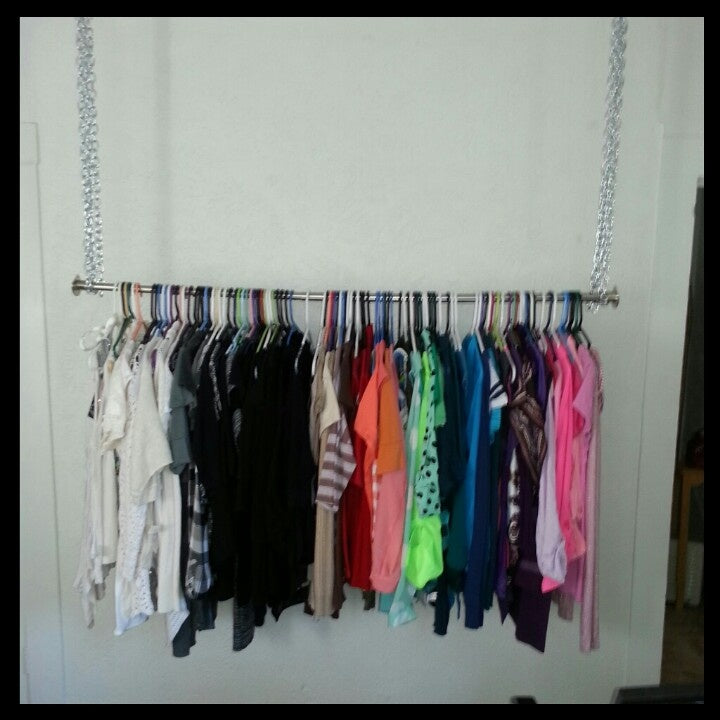 Do You Really Need A Wardrobe Alternative Hanging Spaces