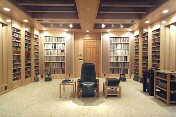Amazing luxury music room