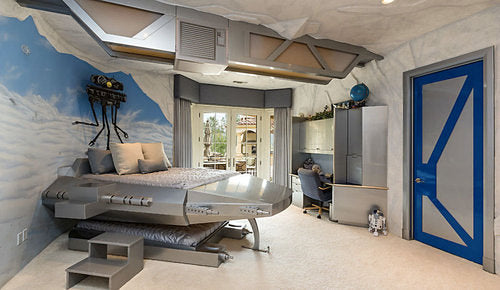 Hoth Ice Planet Themed Bedroom Design