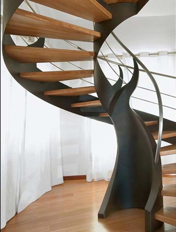 Nice Amazing Stairs Part - 12: ... Amazing-spiral-staircase-best-picture-01