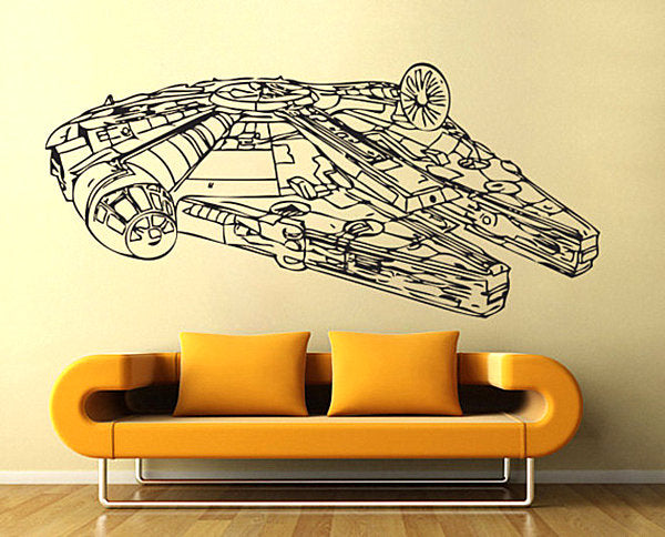 Star Wars Millennium Falcon Wall Art
