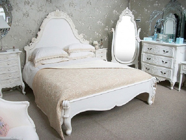 Tour de Force of French Design Terrys Fabricss Blog. White french bedroom furniture