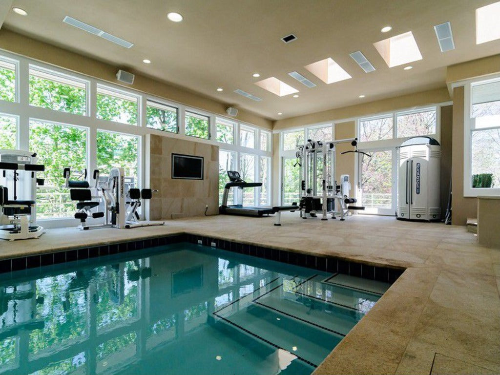 Get in shape at home with a luxury gym