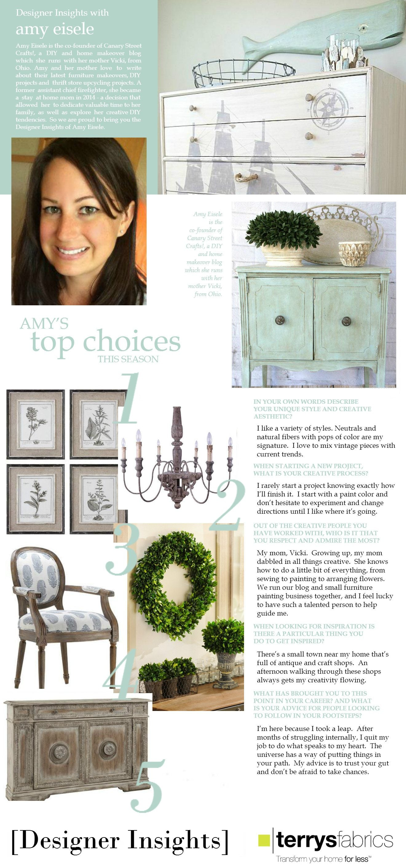 Designer Insights - Amy Eisele