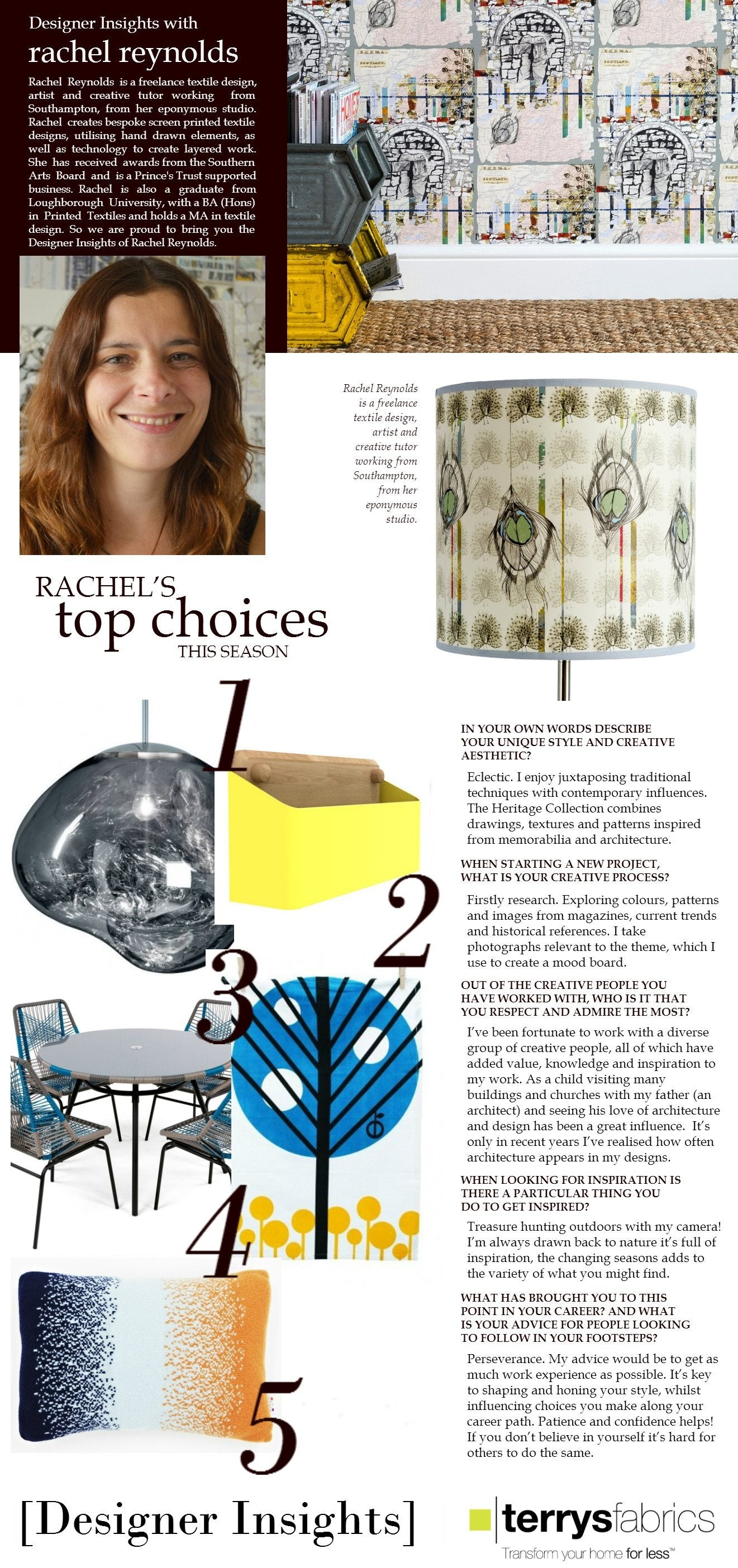 Designer Insights - Rachel Reynolds