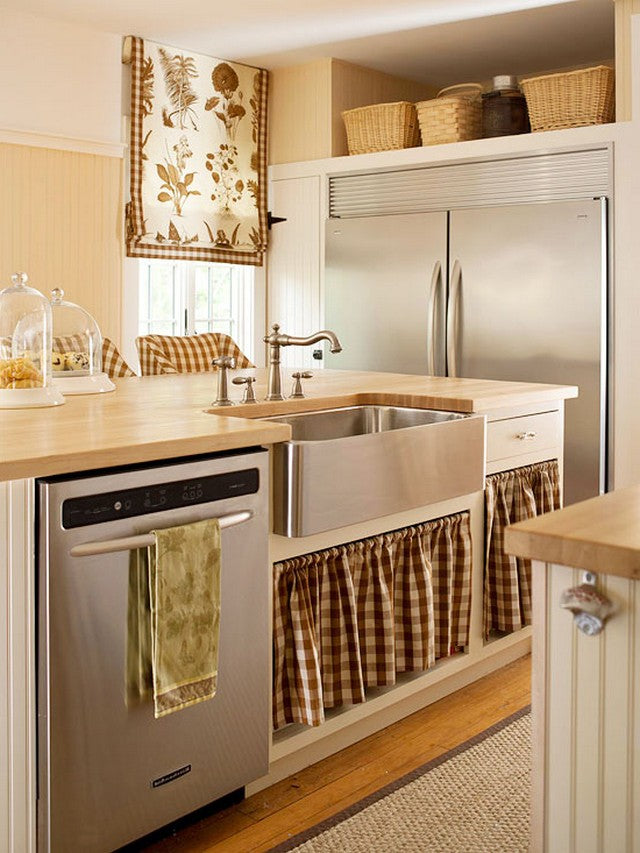 Kitchens That Skirt The Issue