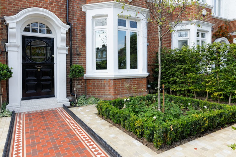 South West London Victorian Terraced Front Garden